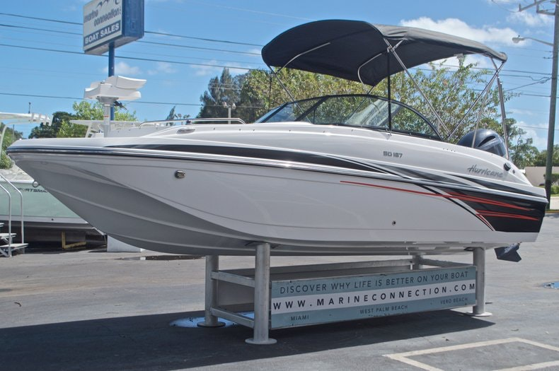 Image 3 for 2017 Hurricane SunDeck SD 187 OB in West Palm Beach, FL
