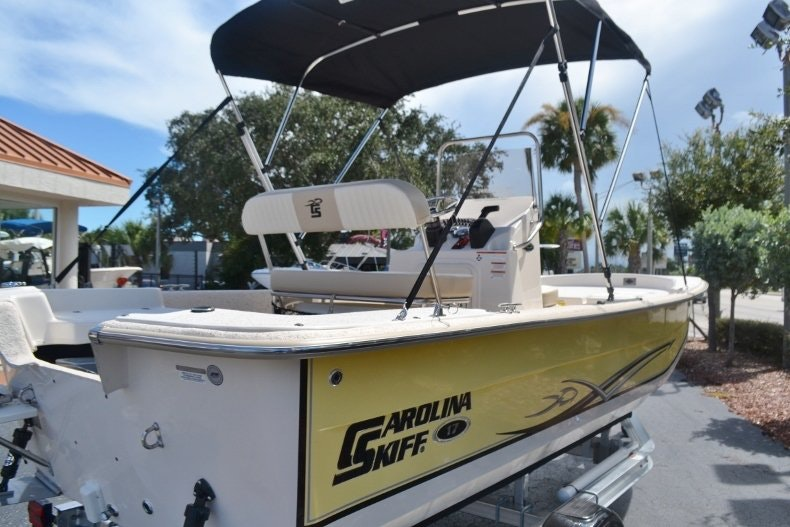 Thumbnail 5 for New 2019 Carolina Skiff 1765 DLX boat for sale in Vero Beach, FL