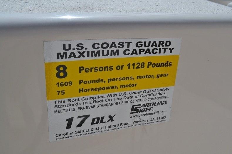 Thumbnail 12 for New 2019 Carolina Skiff 1765 DLX boat for sale in Vero Beach, FL