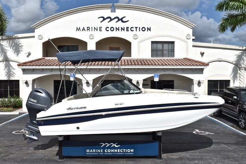 Image 0 for 2019 Hurricane SunDeck SD 187 OB in West Palm Beach, FL