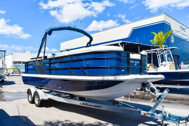 Thumbnail 1 for New 2019 Hurricane FunDeck FD 236 Wet Bar OB boat for sale in Miami, FL
