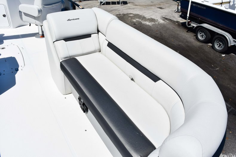 Thumbnail 46 for New 2019 Hurricane FunDeck FD 236 Wet Bar OB boat for sale in Miami, FL