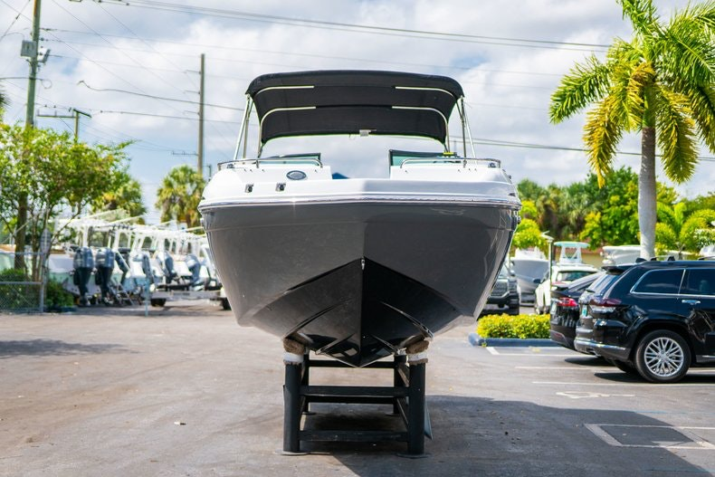 Thumbnail 2 for New 2019 Hurricane SunDeck SD 2486 OB boat for sale in Vero Beach, FL
