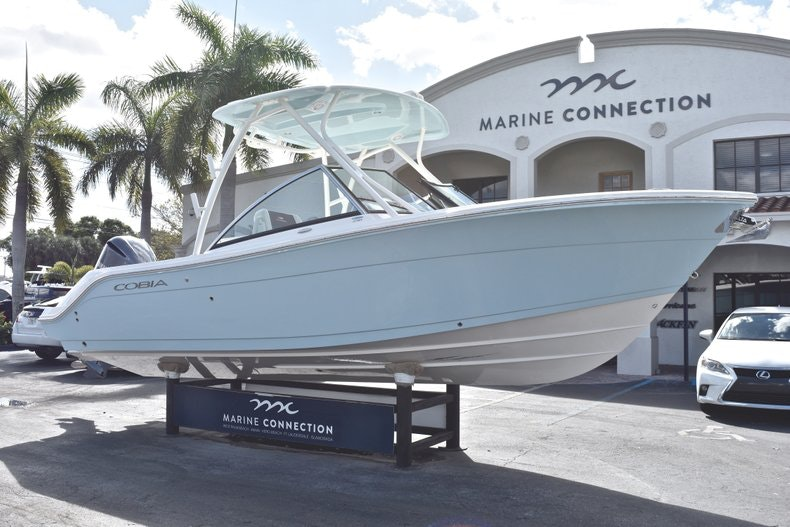 Thumbnail 1 for New 2019 Cobia 240 DC boat for sale in Vero Beach, FL