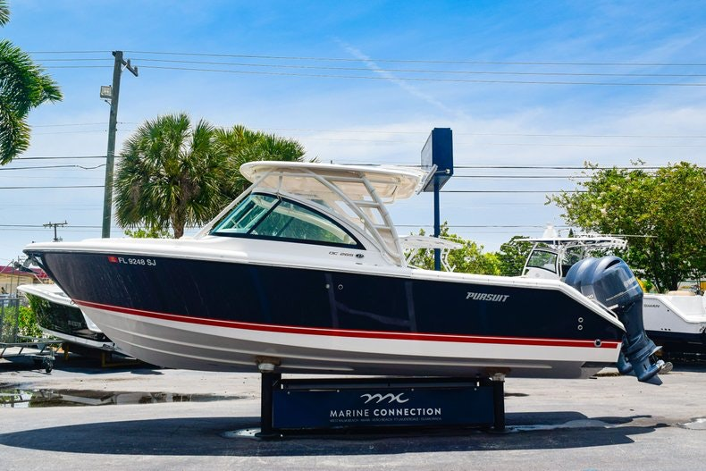 Thumbnail 4 for Used 2016 Pursuit DC 265 Dual Console boat for sale in West Palm Beach, FL