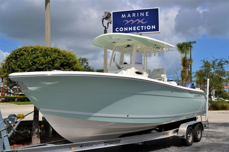 Thumbnail 1 for New 2020 Cobia 262 CC boat for sale in Vero Beach, FL