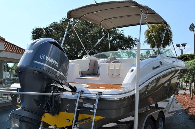 Thumbnail 5 for Used 2014 Hurricane SunDeck SD 2690 OB boat for sale in Vero Beach, FL