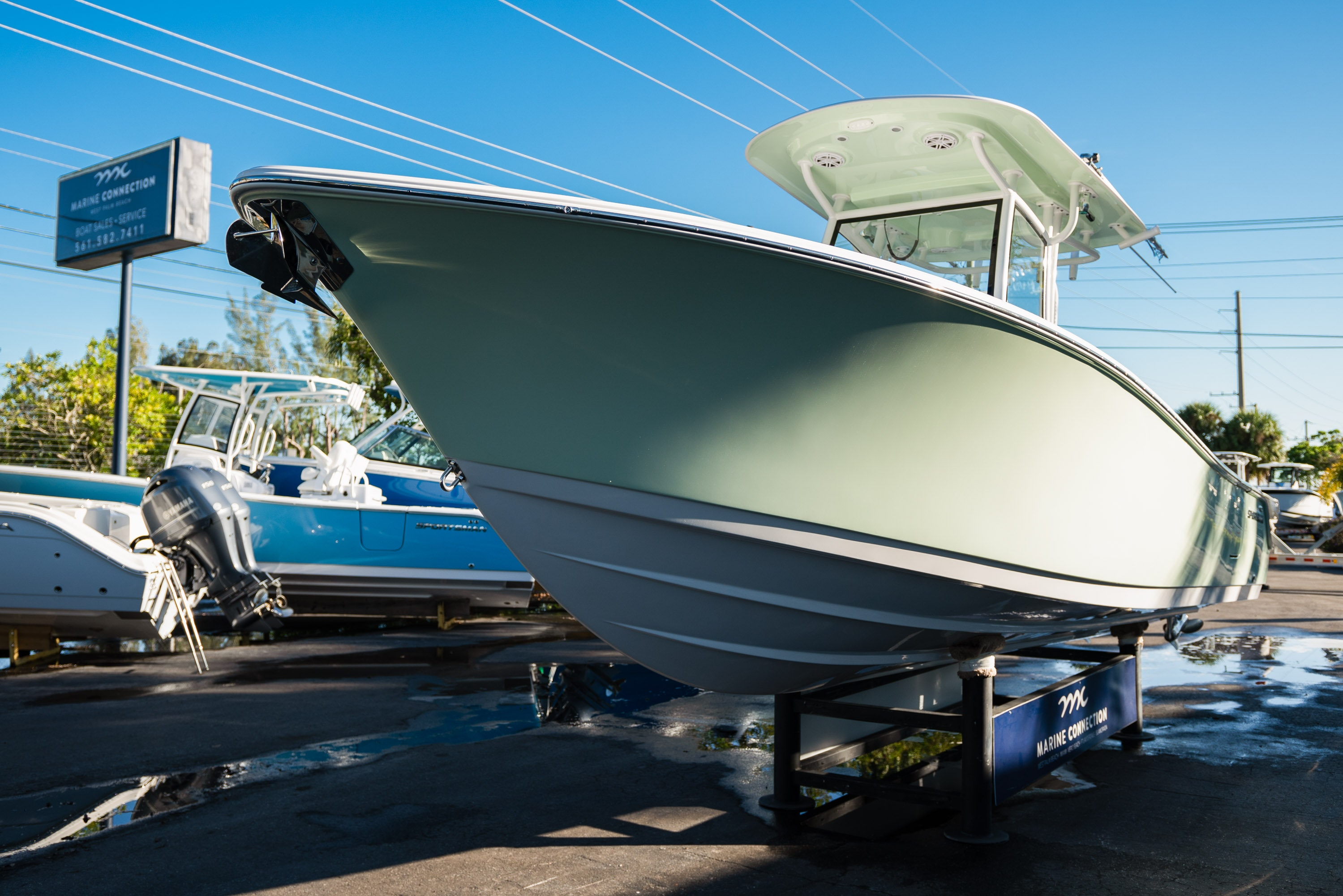 Thumbnail 3 for New 2020 Sportsman Open 282TE Center Console boat for sale in West Palm Beach, FL