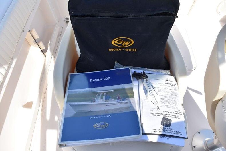 Thumbnail 22 for Used 2010 Grady-White 209 Escape boat for sale in Vero Beach, FL