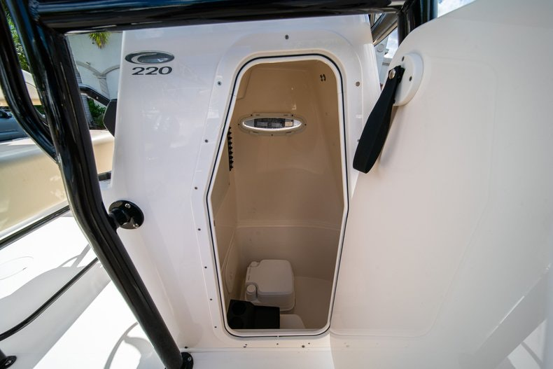 Thumbnail 27 for Used 2017 Cobia 220 Center Console boat for sale in West Palm Beach, FL