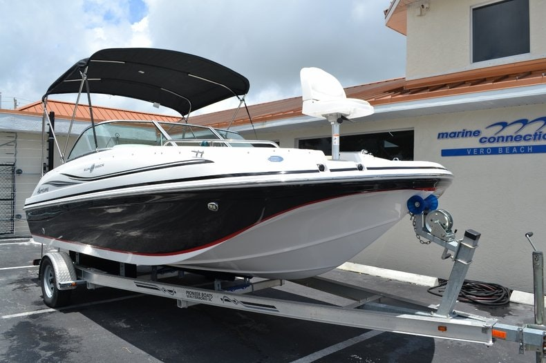 Image 1 for 2015 Hurricane SunDeck SD 187 OB in Vero Beach, FL