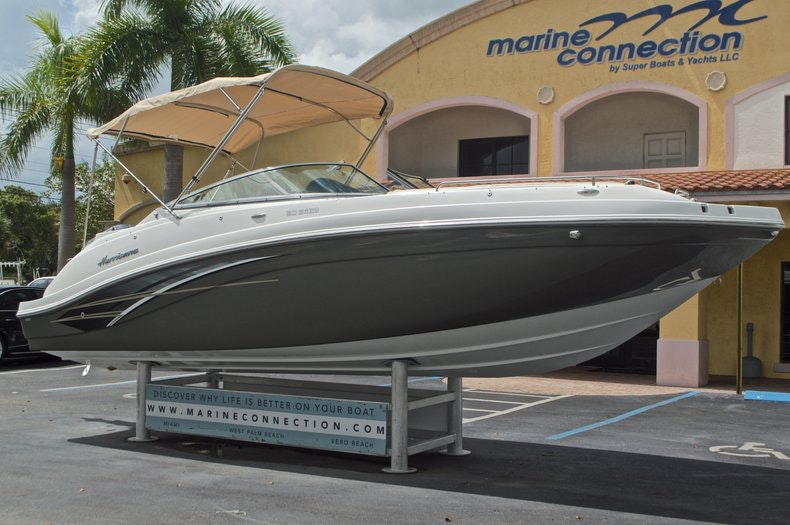 Thumbnail 1 for New 2017 Hurricane SunDeck SD 2486 OB boat for sale in West Palm Beach, FL